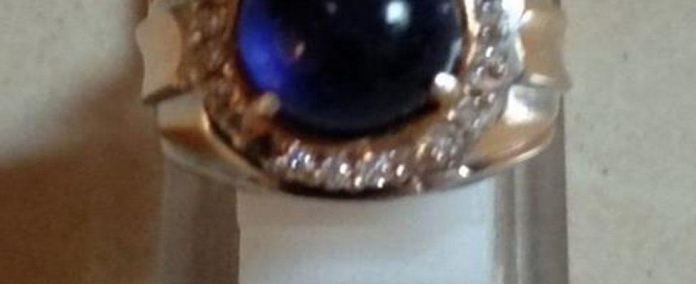 Cincin Batu Royal Blue Safir